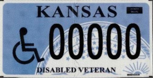 Personalized Disabled Veteran 2020