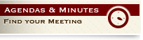 Agendas and Minutes - Find Your Meeting